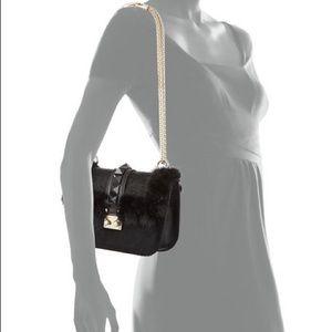 Valentino Garavani Small Fur Rockstad Bag